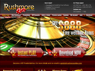 Rushmore Casino Home