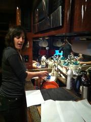 Nicky washing dishes - 4