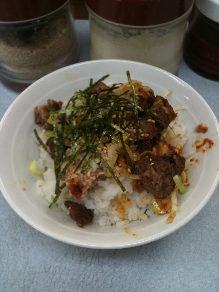 Shashu Don (チャーシュー丼 Japanese style BBQ pork rice bowl)