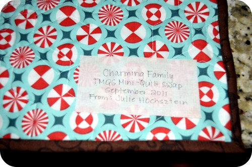 MIni Quilt Label