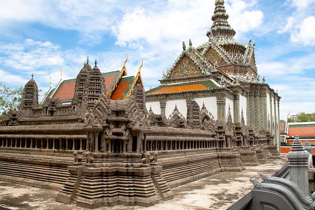 Scale model Angkor Wat