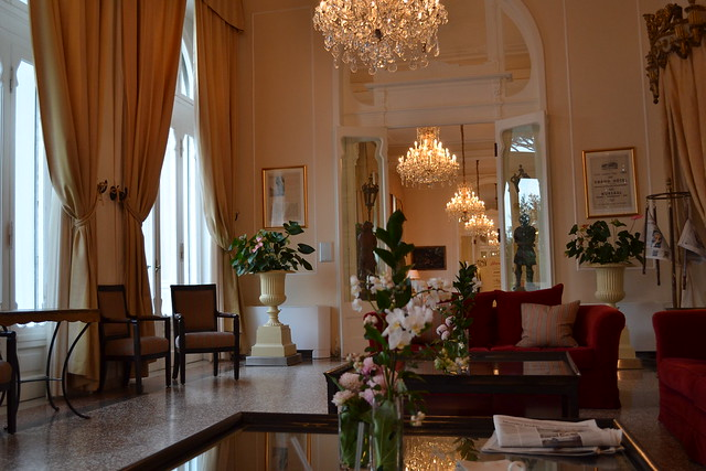Hall of Grand Hotel Rimini