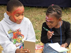 kids in revitalizing Mapleton-Fall Creek, indianapolis (courtesy of MFCDC)