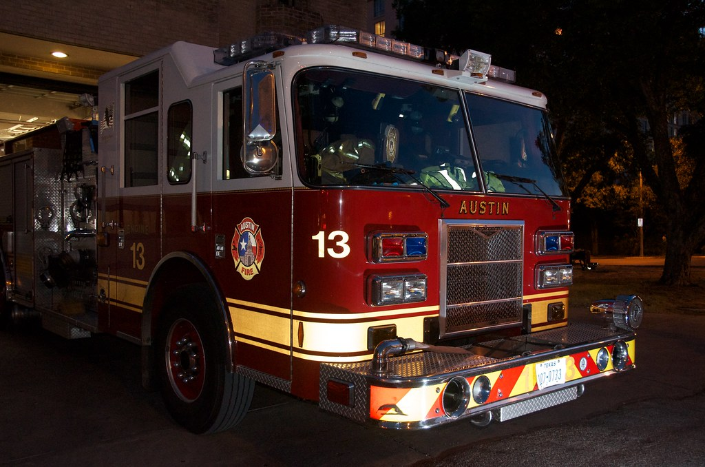Austin, TX Photowalk: Fire Truck