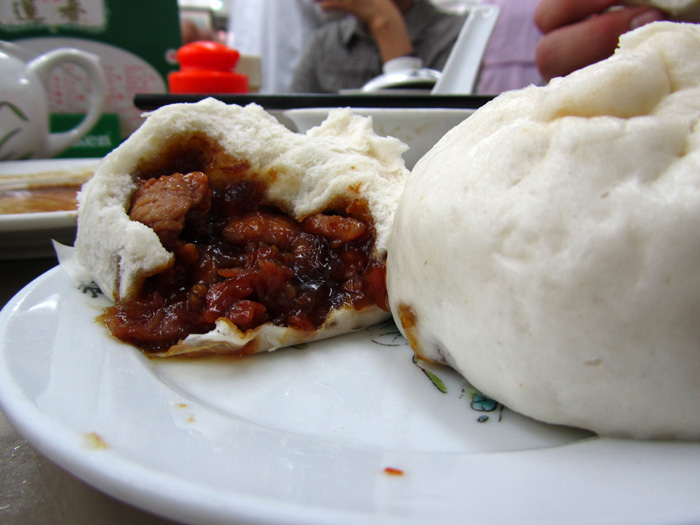 Steamed Buns with Barbecue Red Pork