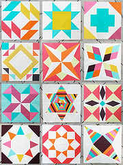 Summer Sampler Series Blocks (Fresh Lemons : Faith) Tags: quiltblocks paperpiecing quiltalong patbravo pureelements summersamplerseries