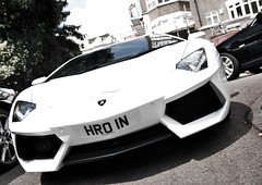 Aventador. (Jurriaan Vogel) Tags: auto uk england italy white london english cars sports car sport photography spain italian nikon automobile italia britain united 4 great fast kingdom automotive super ferrari bull zaragoza exotic lp 1750 l british diablo owen hr carbon 700 tamron lamborghini coupe exclusive supercar v8 dealership v10 coup vogel 65 countach bullfighting gallardo sportscar dealer bolognese murcielago automobili v12 lambo miura d60 jurriaan ldn santagata 2011 reventon estoque ferruccio posteriore 65l worldcars longitudinale aventador lp700 lp7004