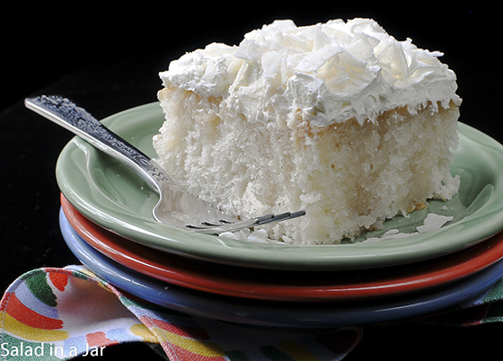 new coconut cake post red