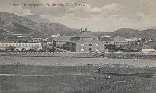 Estação Telegráfica de São Vicente - Cabo Verde 1916
