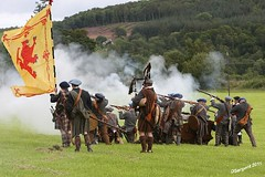 Behind the Highland Line (day_sargent) Tags: history scotland battle battlefield reenactment selkirk livinghistory warfare scottishborders sealedknot philiphaugh