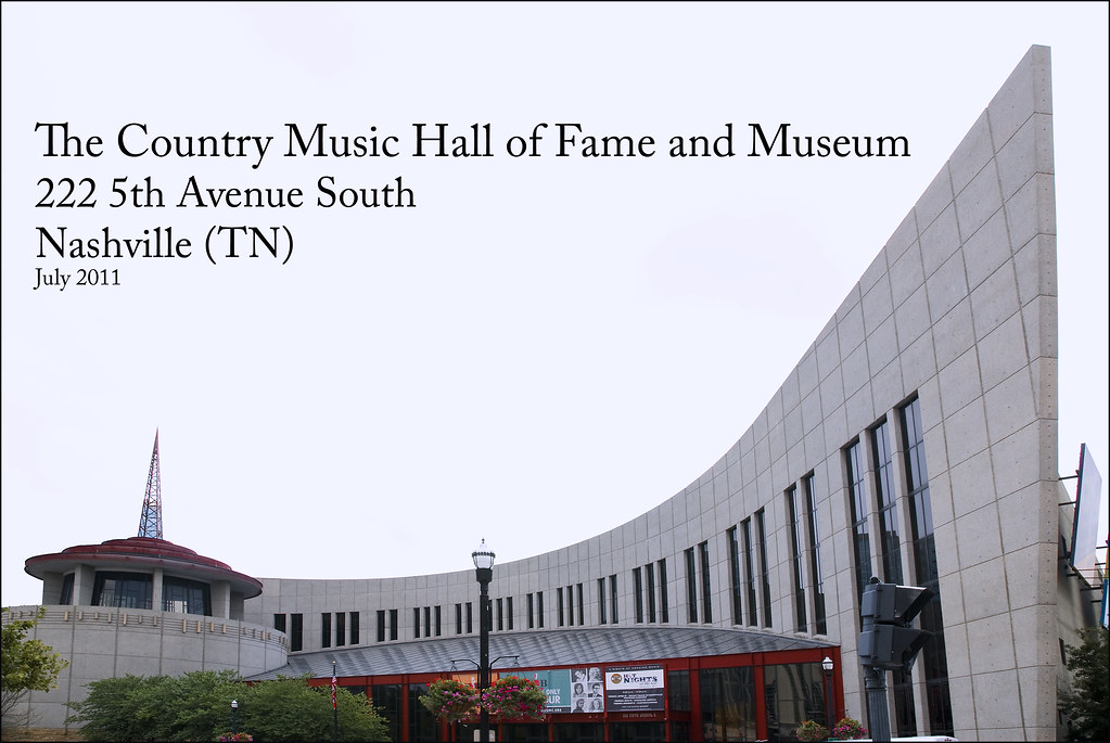 Country and Western Music Hall of Fame Nashville (TN) July 2011
