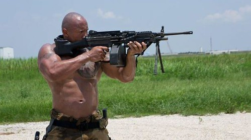 Dwayne Johnson as Roadblock in GI Joe 2