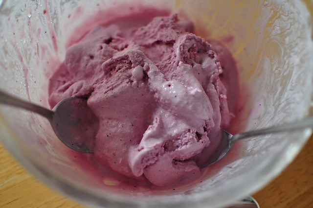 blueberry ice cream