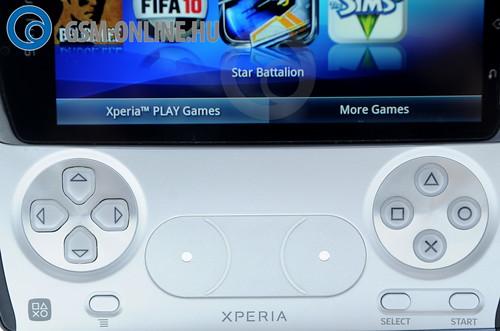 Sony Ericsson Xperia Play PSP gombok
