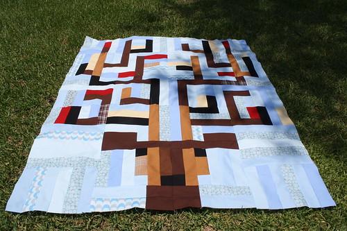 sew deer quilt 1