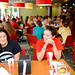 Students enjoy dining in the newly renovated Atrium.