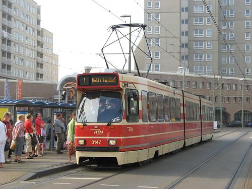 HTM GTL8 tram no. 3147, Scheveningen