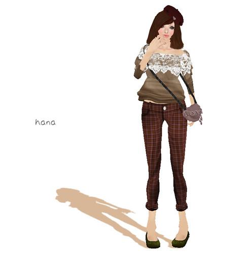 .::Y&R::. off-shoulder blouse LB