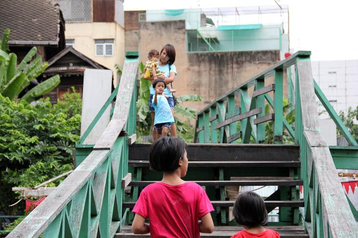 Khlong Saen Saeb Canal, Bangkok, Thailand
