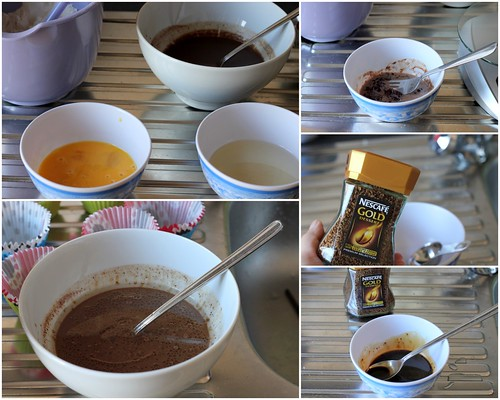 Bánh muffin chocolate coffee 2