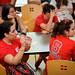 Incoming CHASS students participate in trivia game during their Wolfpack Welcome activities.