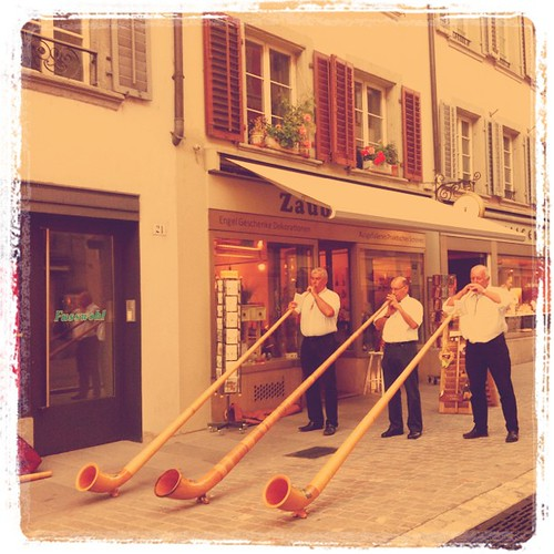 Some traditional music in Aarau by Davide Restivo