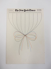 Holiday card by Lou Silverstein for the New York Times (Herb Lubalin Study Center) Tags: lubalincenter