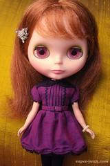 the Dash dress - violet