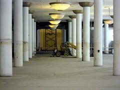 tearing down the forest (randoymwalks) Tags: chicago architecture carson scott construction sullivan pillars pirie
