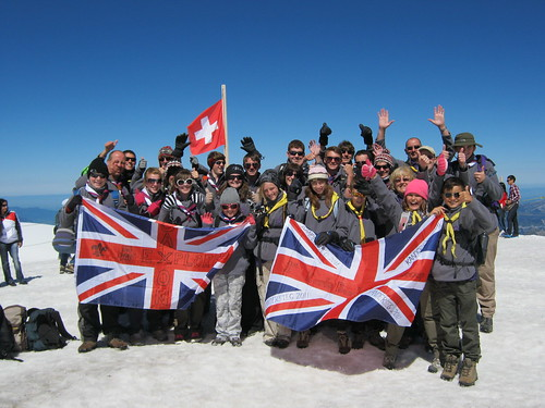Jungfrau flags