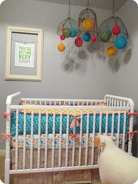 Neutral nursery sheep : ... the walls to create a neutral background. perfect wall color choice