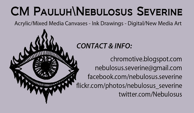 Business card design, Version 1, Reverse