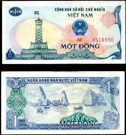 1 Dong Vietnam 1985, Pick 90