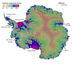 Revealed: an ice sheet on the move