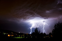 Lightning (zwiick) Tags: light night dark switzerland nikon thunderstorm lightning thunder d90 18105mm