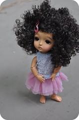 Little Ballerina Girl (Lawdeda ) Tags: yellow ballerina little pirate lea bjd custom latidoll lati vainilladolly