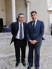 UfMS Secretary General Ahmad Masa'deh and President of EMUNI Joseph Mifsud at Al-Edrissi Award Ceremony (ahmadmasadeh) Tags: ahmad masadeh