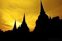 Sunset At Pagodas