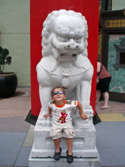 Jacques Hollywood at the Great Movie Ride (BarryFackler) Tags: family vacation sunglasses architecture orlando theater florida elmo chinese 2006 disneyworld hollywood amusementpark fl waltdisneyworld themepark disneymgmstudios chinesetheater waltdisney chinesearchitecture waltdisneyworldresort foolion thegreatmovieride jacquesliquie