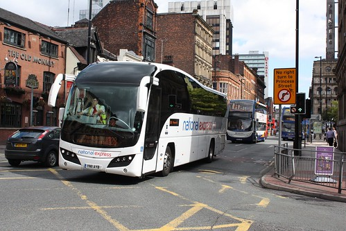 National Express Volvo Elite in Manchester YN11 AYB