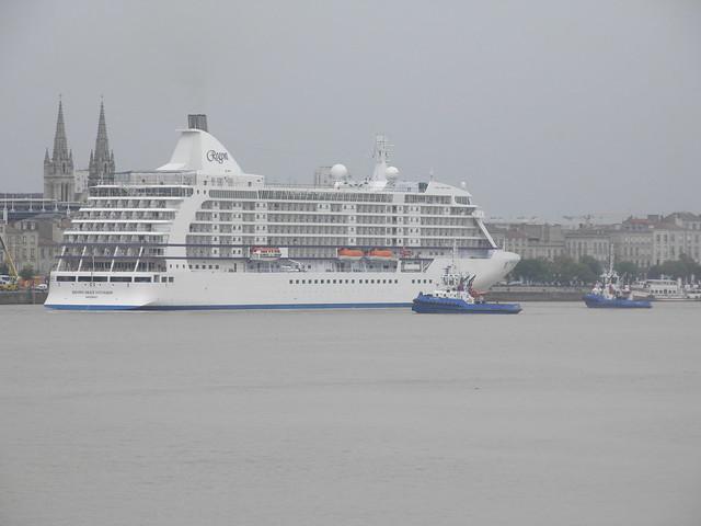 Seven Seas Voyager, RM Thomas and RM Médoc - Bordeaux