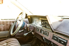 Cutlass Ciera Interior (Curtis Gregory Perry) Tags: auto abandoned car wheel oregon nikon automobile panel steering interior seat mobil instrument motor dashboard oldsmobile automvil cutlass ciera xe d300 automobil     samochd  kotse  otomobil   hi   bifrei  automobili   gluaisten