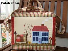 BAG DINAH (Patch da Lu) Tags: bag patchwork bolsa mala aplique aplicação malaviagem bolsacomalça