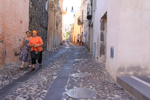 Orosei street life...
