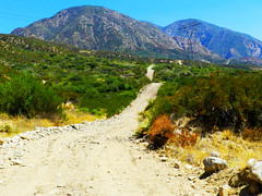 Old Mountain Road (TheJudge310) Tags: california road mountains path trail dirtroad dirtpath nikoncoolpixp500 devoreheights greaterphotographers devoreheightscalifornia