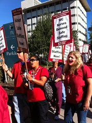 RN's protest Kaiser Walnut Creek