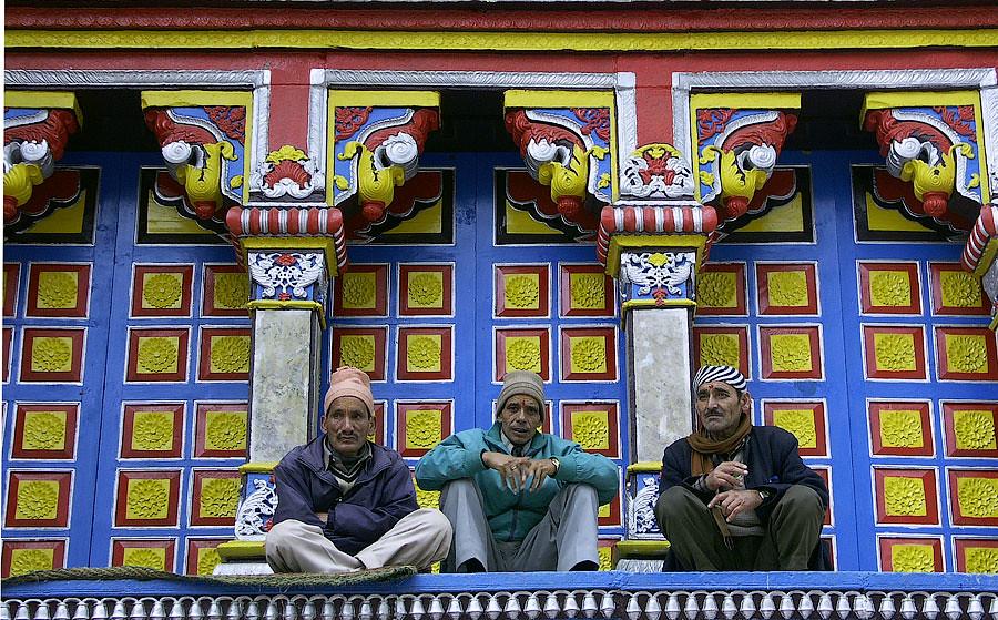 Бадринатх (храм Бадри) © Kartzon Dream - авторские путешествия, авторские туры в Индию, тревел фото, тревел видео, фототуры