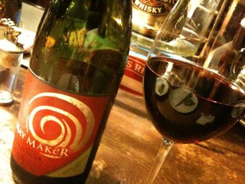 赤ワイン。@エスカレラ