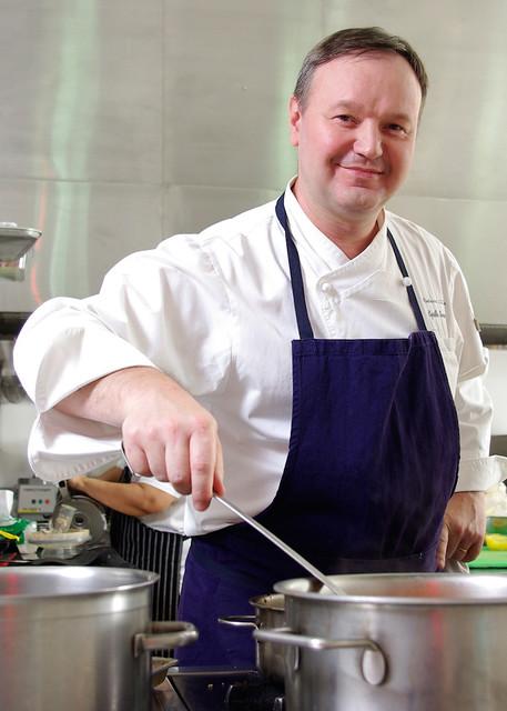 Chef Cyrille Soenen