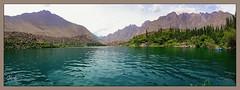 Upper Kachura Lake(Panorama) (IshtiaQ Ahmed revival to Photography) Tags: pakistan lake hot water streams utopia coldwater deosai skardu kachura upperkachura ruggedterrain northernareasofpakistan gilgitbaltistan sukhnaala